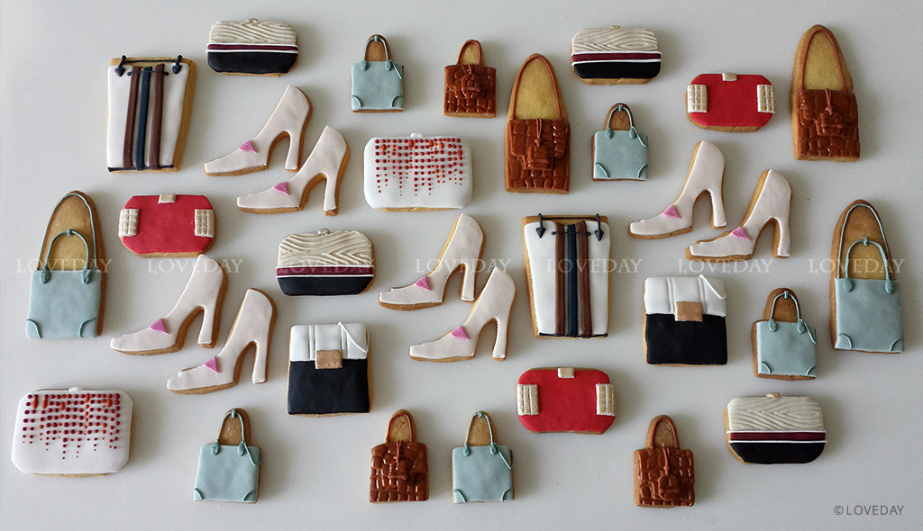 Cookies moda shoes - sugar art Eventi by Loveday