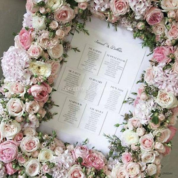 Fiori Matrimonio Rustico : Tableau de mariage loveday