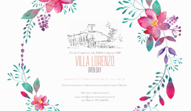villa lorenzo open day