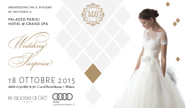 Wedding Surprise a Palazzo Parigi 2015