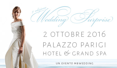 Wedding Surprise a Palazzo Parigi 2016