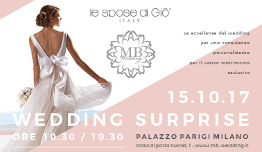 Wedding Surprise a Palazzo Parigi 2017