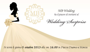 Wedding Surprise a in piazza duomo a Monza