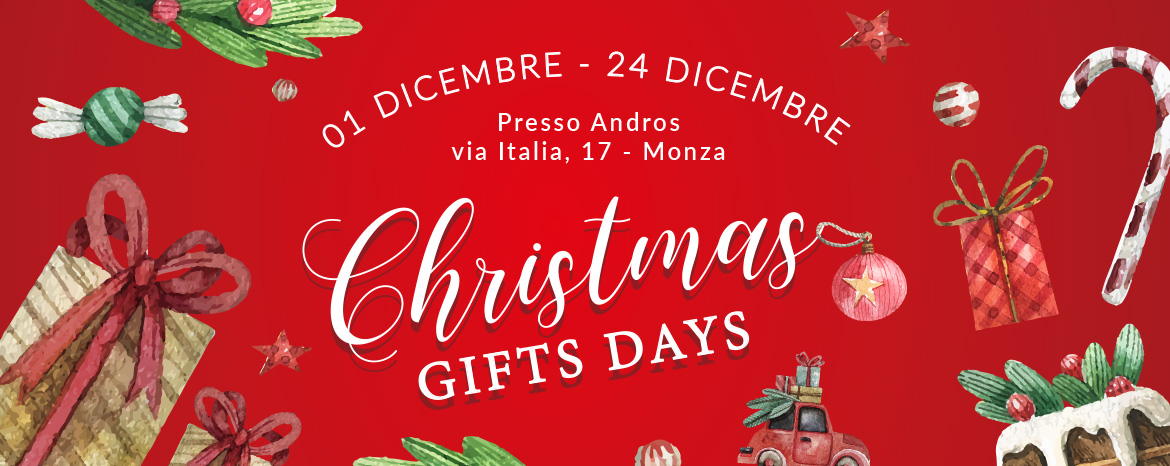 Christmas Gifts Days - 1 dicembre - 24 dicembre, Loveday
